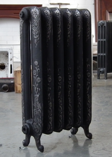 Historic Arts And Crafts Cast Iron Radiators Assembled And